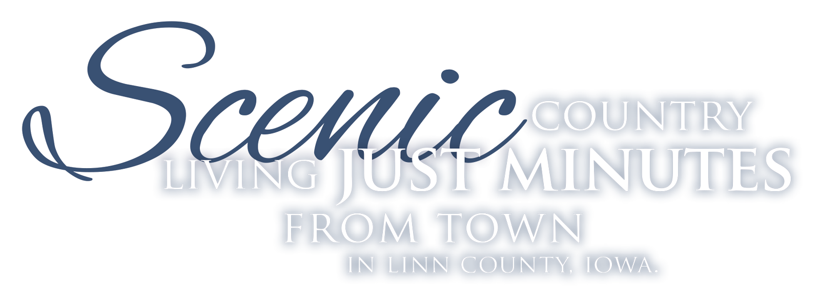 Scenic country living just minutes from town in Linn County, Iowa